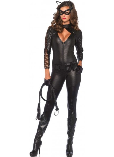 Wicked Kitty Womens Catwoman Costume at Cosplay Costume Closet Halloween Costume Shop, Halloween Cosplay Costumes | Kids, Adult & Plus Size Halloween Costumes