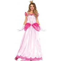 Classic Pink Princess Womens Halloween Costume