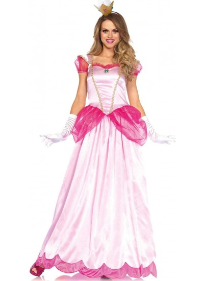 Classic Pink Princess Womens Halloween Costume at Cosplay Costume Closet Halloween Shop, Halloween Cosplay Costumes | Kids, Adult & Plus Size Halloween Costumes