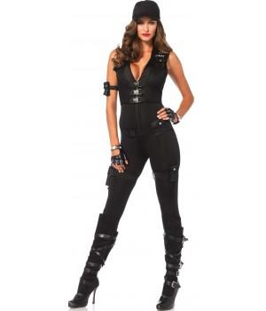 SWAT Commander Deluxe Womens Costume Cosplay Costume Closet Halloween Shop Halloween Cosplay Costumes | Kids, Adult & Plus Size Halloween Costumes