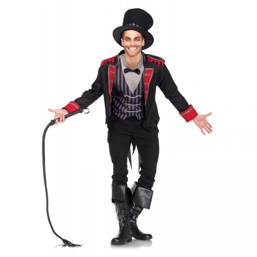 Sinister Ring Master Circus Costume for Men  sc 1 st  Cosplay Costume Closet & Sinister Ringmaster Mens Circus Costume - Halloween Costume for Adults