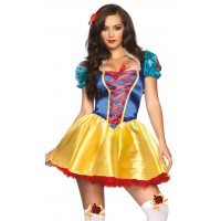 Fairytale Snow White Womens Halloween Costume