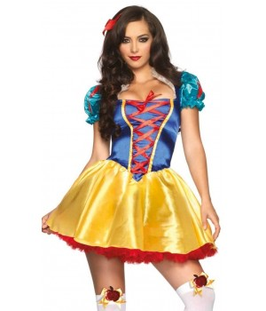 Fairytale Snow White Womens Halloween Costume Cosplay Costume Closet Halloween Shop Halloween Cosplay Costumes | Kids, Adult & Plus Size Halloween Costumes