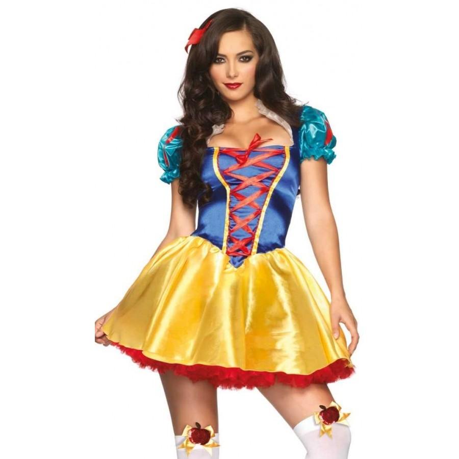 bef437cf08c Fairytale Snow White Womens Halloween Costume at Cosplay Costume Closet  Halloween Costume Shop
