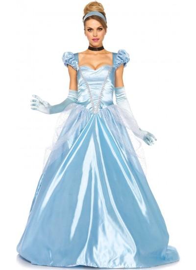 Classic Cinderella Womens Halloween Costume at Cosplay Costume Closet Halloween Costume Shop, Halloween Cosplay Costumes   Kids, Adult & Plus Size Halloween Costumes