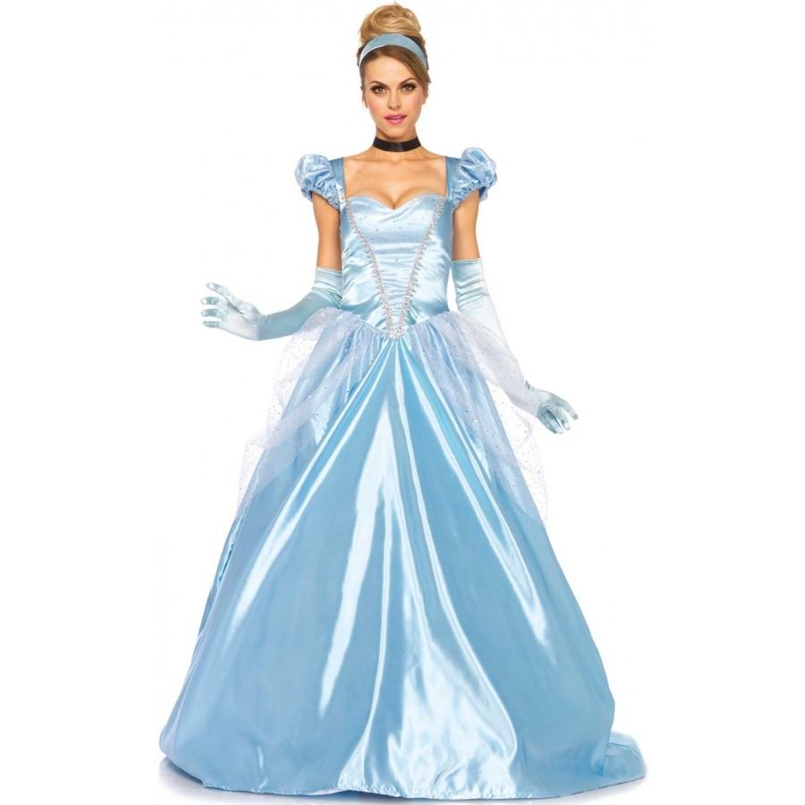 Classic Cinderella Womens Halloween Costume | Fairytale Costumes