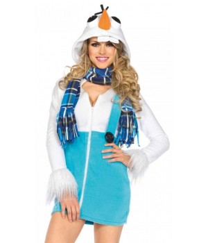 Cozy Snowman Olav Womens Halloween Costume Cosplay Costume Closet Halloween Shop Halloween Cosplay Costumes | Kids, Adult & Plus Size Halloween Costumes