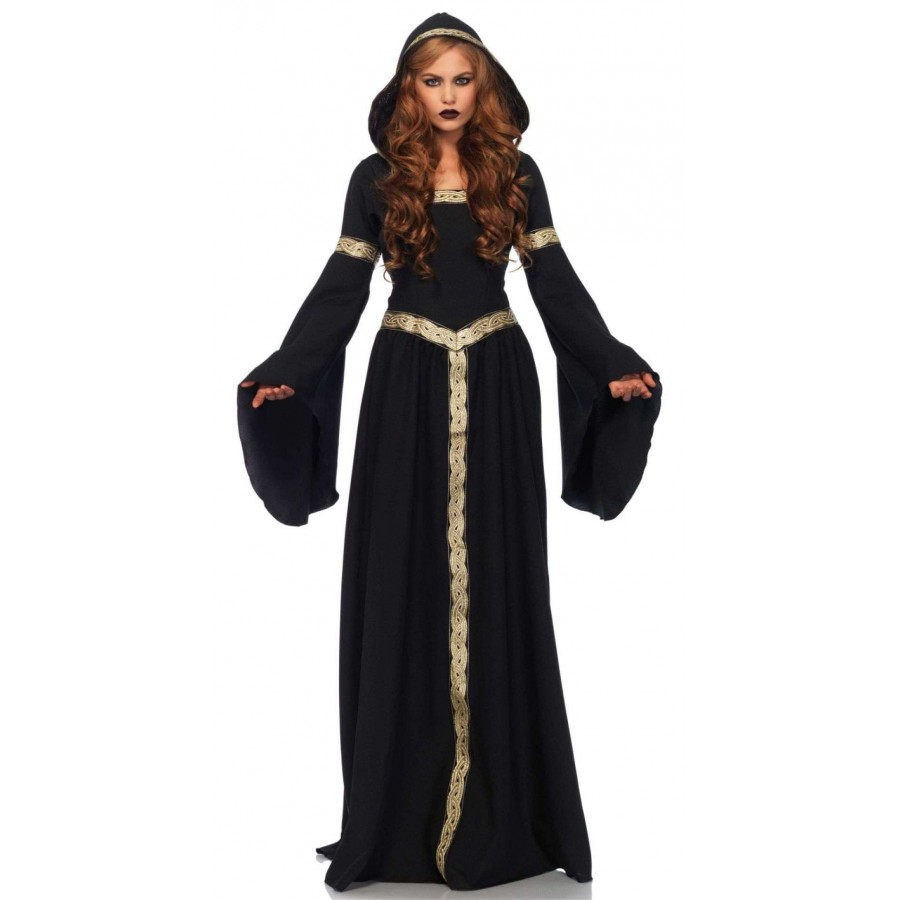 Celtic Lady Hooded Womens Halloween Costume : Pagan Witch ...