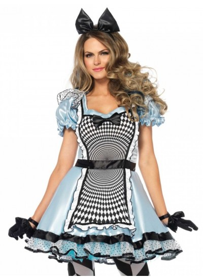 Hypnotic MIss Alice Adult Womens Halloween Costume at Cosplay Costume Closet Halloween Shop, Halloween Cosplay Costumes | Kids, Adult & Plus Size Halloween Costumes