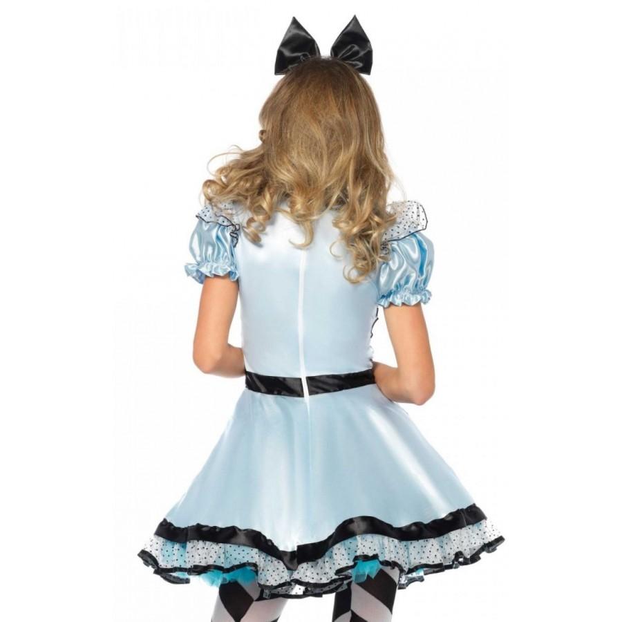 White apron alice wonderland costume -  Hypnotic Miss Alice Adult Womens Halloween Costume At Cosplay Costume Closet Halloween Costumes For Kids