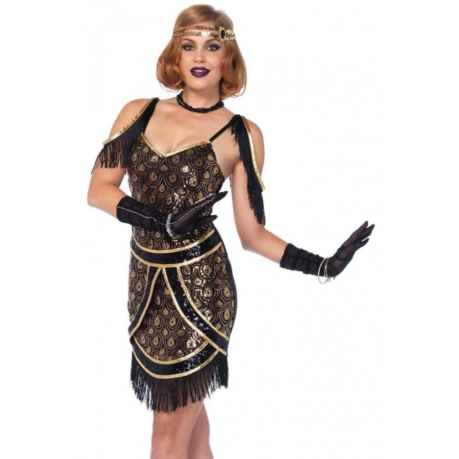 Speakeasy Sweetie Womens Flapper Costume | Roaring 20s Halloween ...