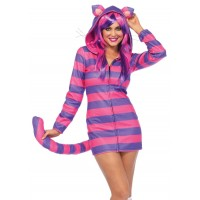 Cozy Cheshire Cat Hoodie Costume