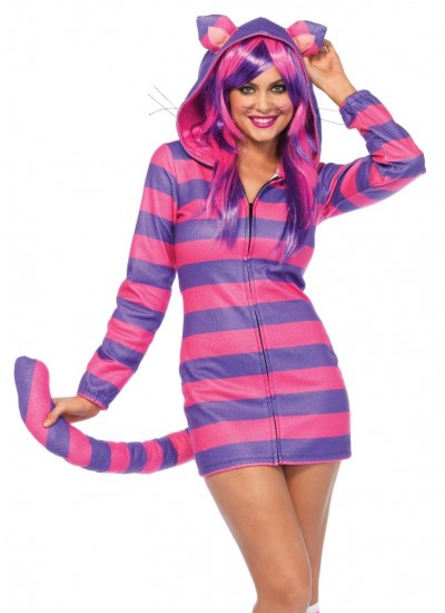 Cozy Cheshire Cat Hoodie Costume at Cosplay Costume Closet Halloween Costume Shop, Halloween Cosplay Costumes | Kids, Adult & Plus Size Halloween Costumes