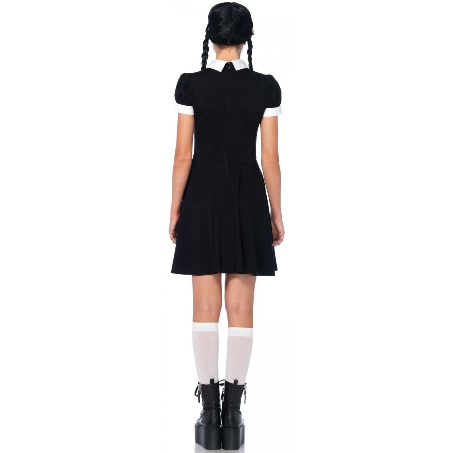 4930bf4bbafa0 ... Gothic Wednesday Darling Costume at Cosplay Costume Closet Halloween  Costume Shop