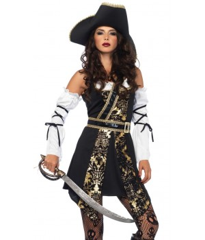 Black Sea Buccaneer Pirate Womens Costume Cosplay Costume Closet Halloween Costume Shop Halloween Cosplay Costumes | Kids, Adult & Plus Size Halloween Costumes