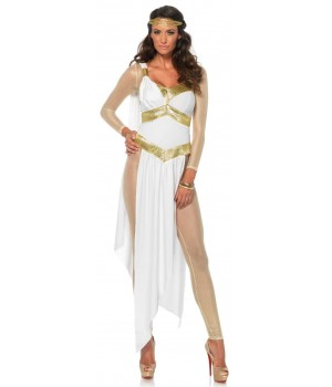 Golden Greek Goddess Womens Costume Cosplay Costume Closet Halloween Costume Shop Halloween Cosplay Costumes | Kids, Adult & Plus Size Halloween Costumes