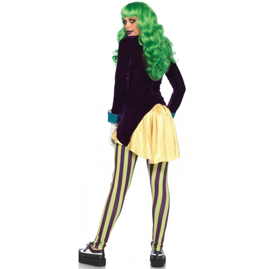 ... Wicked Trickster Joker Costume for Women at Cosplay Costume Closet Halloween Costume Shop Halloween Cosplay  sc 1 st  Cosplay Costume Closet & Wicked Trickster Joker Costume for Women | Halloween Costumes