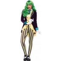 Wicked Trickster Joker Costume for Women
