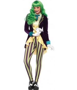 Wicked Trickster Joker Costume for Women Cosplay Costume Closet Halloween Shop Halloween Cosplay Costumes | Kids, Adult & Plus Size Halloween Costumes