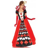 Queen of Hearts Deluxe Wonderland Costume