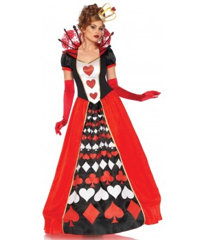Queen of Hearts Deluxe Wonderland Costume Cosplay Costume Closet Halloween Shop Halloween Cosplay Costumes | Kids, Adult & Plus Size Halloween Costumes