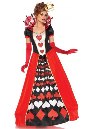 Queen of Hearts Deluxe Wonderland Costume at Cosplay Costume Closet Halloween Shop, Halloween Cosplay Costumes | Kids, Adult & Plus Size Halloween Costumes