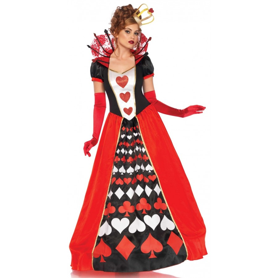 Queen of Hearts Deluxe Wonderland Costume at Cosplay Costume Closet Halloween Costume Shop Halloween Cosplay  sc 1 st  Cosplay Costume Closet & Queen of Hearts Deluxe Wonderland Costume | Halloween Costume