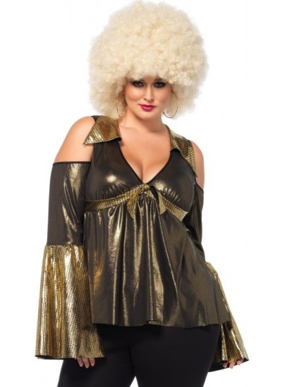 Disco Diva Plus Size Womens Costume at Cosplay Costume Closet Halloween Shop, Halloween Cosplay Costumes | Kids, Adult & Plus Size Halloween Costumes