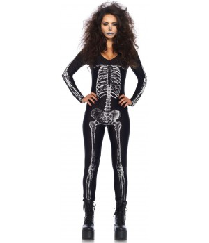 X-Ray Skeleton Print Catsuit Cosplay Costume Closet Halloween Shop Halloween Cosplay Costumes | Kids, Adult & Plus Size Halloween Costumes