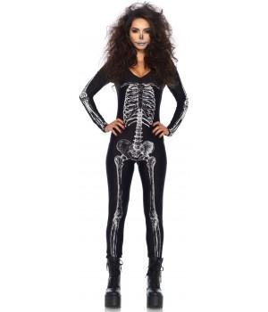 X-Ray Skeleton Print Catsuit Cosplay Costume Closet Halloween Costume Shop Halloween Cosplay Costumes | Kids, Adult & Plus Size Halloween Costumes