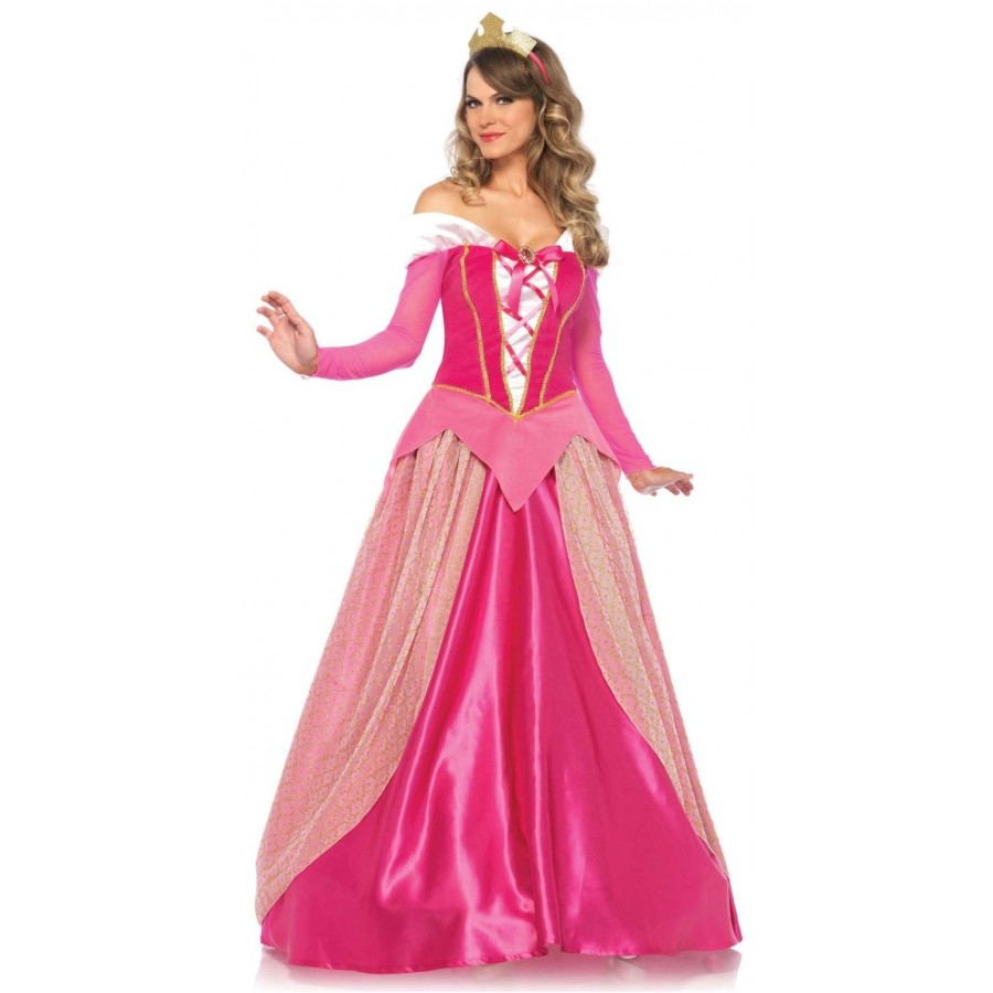 Adult Cinderella Costume M-XL Ball Gown Dress Hoop Enchanting Juniors Princess