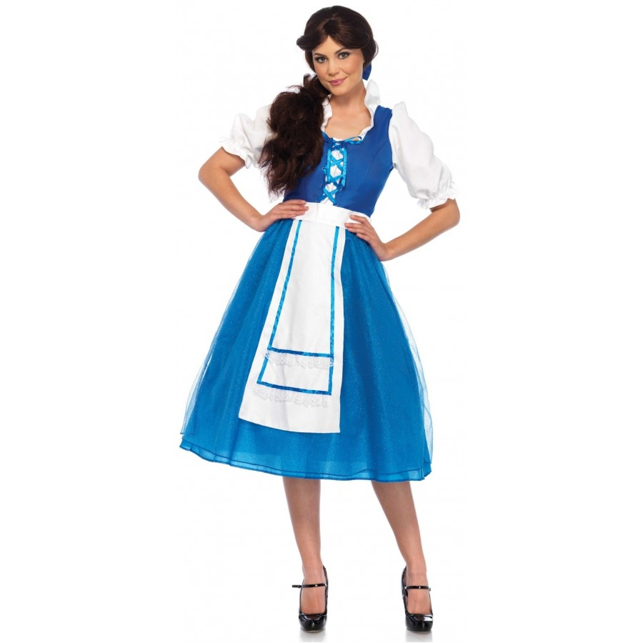 Storybook Village Belle Halloween Costume at Cosplay Costume Closet Halloween Costume Shop Halloween Cosplay Costumes  sc 1 st  Cosplay Costume Closet & Storybook Village Belle Halloween Costume | Beauty and the Beast
