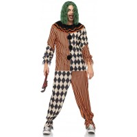 Creepy Killer Clown Mens Costume