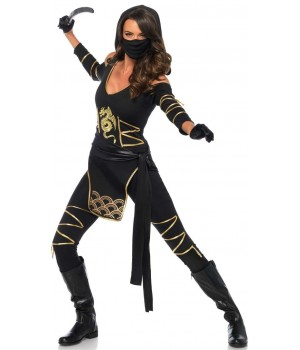 Dragon Ninja Womens Halloween Costume Cosplay Costume Closet Halloween Shop Halloween Cosplay Costumes | Kids, Adult & Plus Size Halloween Costumes