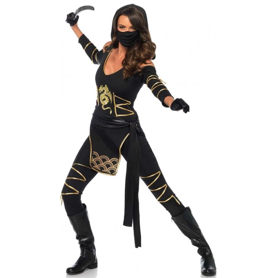 Dragon Ninja Womens Halloween Costume at Cosplay Costume Closet Halloween Costume Shop Halloween Cosplay Costumes  sc 1 st  Cosplay Costume Closet & Dragon Ninja Womens Halloween Costume | Cosplay Costume