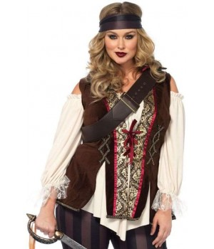 Captain Blackheart Plus Size Womens Pirate Costume Cosplay Costume Closet Halloween Shop Halloween Cosplay Costumes | Kids, Adult & Plus Size Halloween Costumes