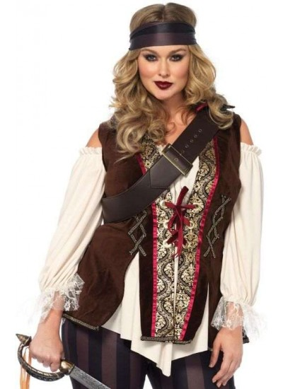Captain Blackheart Plus Size Womens Pirate Costume at Cosplay Costume Closet Halloween Shop, Halloween Cosplay Costumes | Kids, Adult & Plus Size Halloween Costumes