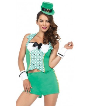 Darlin Leprechaun Womens Costume Set Cosplay Costume Closet Halloween Shop Halloween Cosplay Costumes | Kids, Adult & Plus Size Halloween Costumes