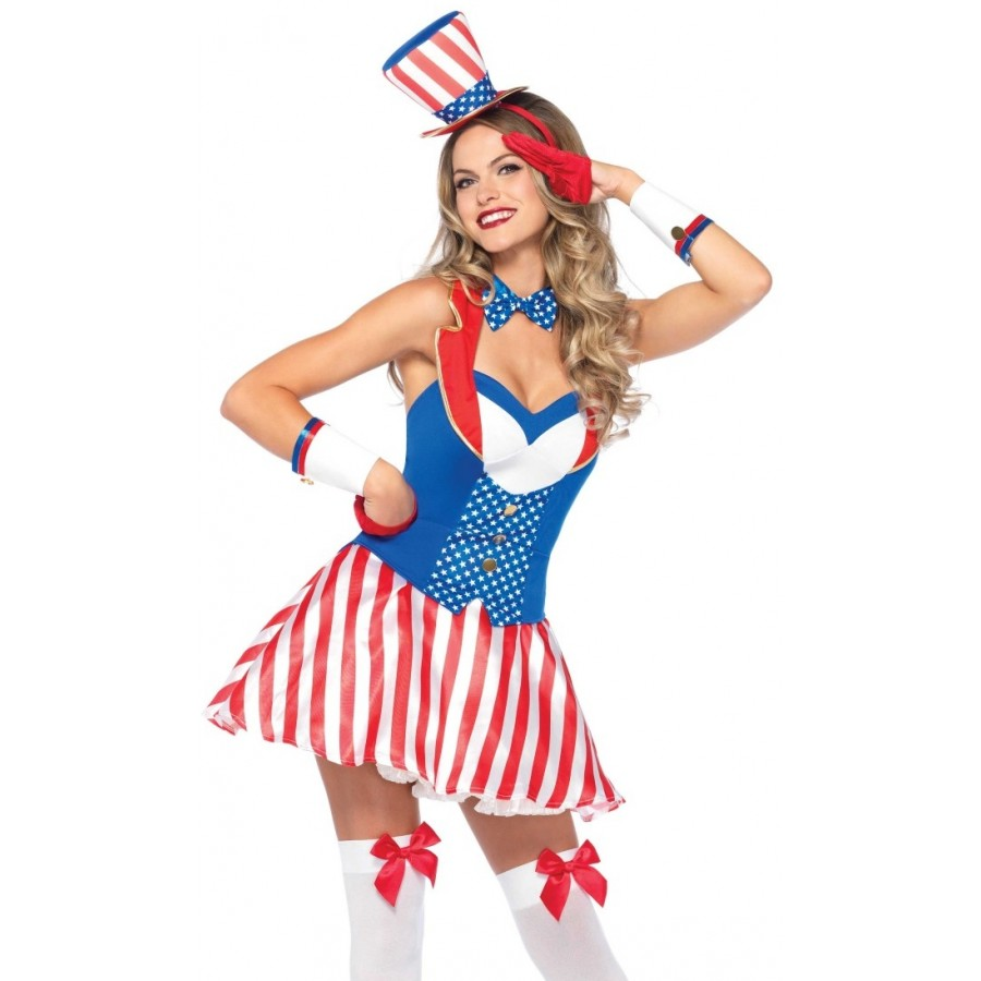 Yankee Doodle Darling Patriotic Womens Costume at Cosplay Costume Closet  Halloween Costume Shop ed14cad9d