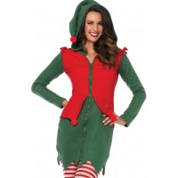 Cozy Elf Holiday Costume for Women
