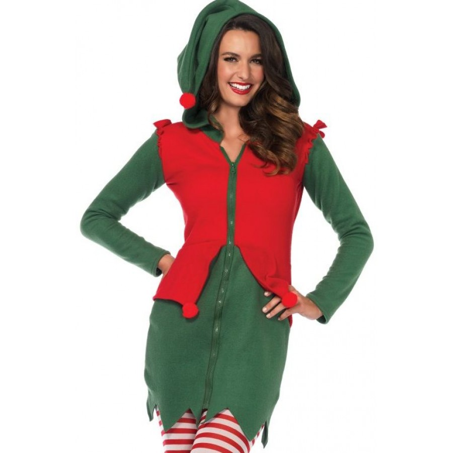 cozy elf holiday costume for women at cosplay costume closet halloween costume shop halloween cosplay