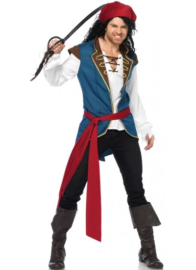 Pirate Scoundrel Mens Halloween Costume at Cosplay Costume Closet Halloween Shop, Halloween Cosplay Costumes | Kids, Adult & Plus Size Halloween Costumes
