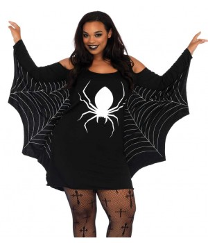 Spiderweb Plus Size Jersey Tunic Dress Cosplay Costume Closet Halloween Shop Halloween Cosplay Costumes | Kids, Adult & Plus Size Halloween Costumes