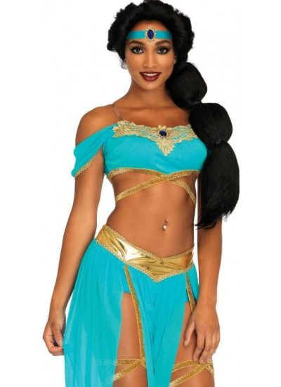 Oasis Harem Princess Costume at Cosplay Costume Closet Halloween Shop, Halloween Cosplay Costumes   Kids, Adult & Plus Size Halloween Costumes