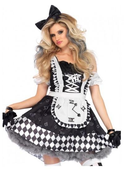 Wonderland Alice Costume Dress for Women at Cosplay Costume Closet Halloween Shop, Halloween Cosplay Costumes | Kids, Adult & Plus Size Halloween Costumes