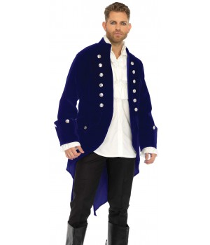 Mens Deluxe Velvet Tail Coat Cosplay Costume Closet Halloween Shop Halloween Cosplay Costumes | Kids, Adult & Plus Size Halloween Costumes