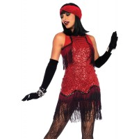 Gatsby Girl Roaring 20s Flapper Dress