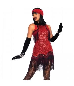 Gatsby Girl Roaring 20s Flapper Dress Cosplay Costume Closet Halloween Shop Halloween Cosplay Costumes | Kids, Adult & Plus Size Halloween Costumes