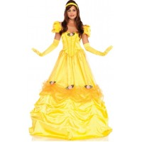 Belle of the Ball Yellow Ballgown Costume