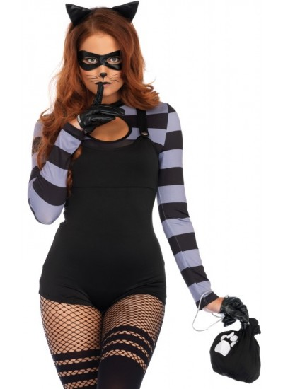 Kitty Cat Burglar Womens Costume at Cosplay Costume Closet Halloween Shop, Halloween Cosplay Costumes | Kids, Adult & Plus Size Halloween Costumes